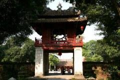 Temple de la littérature a hanoi