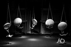 Spectale acrobatique et visuel À Ố