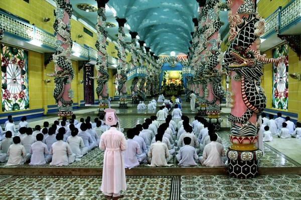 カオダイ 教寺院