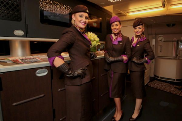 Etihad Airways crew