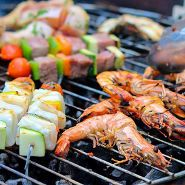 BBQ seafoods