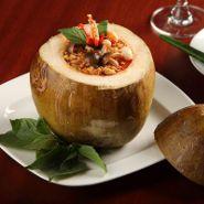 Lingzhy mushroom coconut