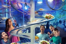 UK's first roller coaster restaurant