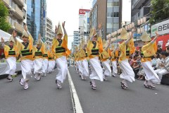 Awa Odori Folk dance festival in Koenji