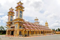 Cao Dai Temple in Tayninh