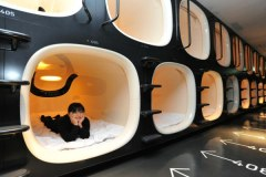 Sydney's First Capsule Hotel