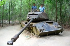 Cu Chi Tunnels Tour and VIP speedboat