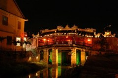Japanese covered bridge - Symbol of Hoi An