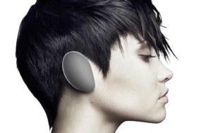 Weird wireless headphones