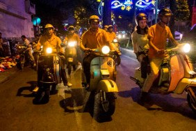 After Dark Vintage Vespa Tour