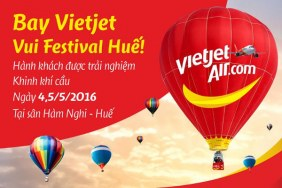 Hot air balloon experience for Vietjet passengers