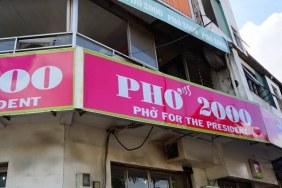 Phở 2000 restaurant Ho Chi Minh city
