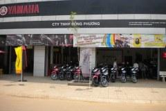 Yamaha Đông Phương in Tây Ninh town