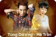 Show diễn Hà Trần và Tùng Dương