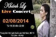 Live Concert Khánh Ly tại Hà Nội và Đà Nẵng