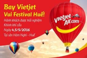 Trải nghiệm khinh khí cầu dành cho hành khách Vietjet